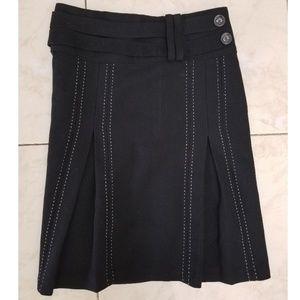 Jones New York Window Pleat Skirt